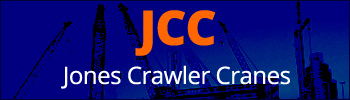 Jones Crawler Cranes - Telescopic and lattice boom crawler cranes for hire & sale